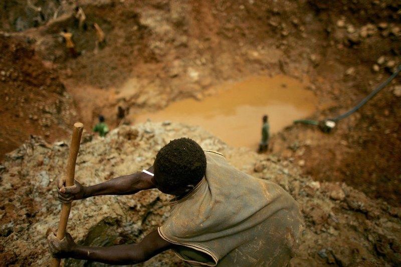 Congo miniere lavoratori