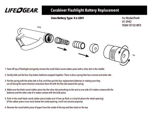 small resolution of section diagram led flashlight
