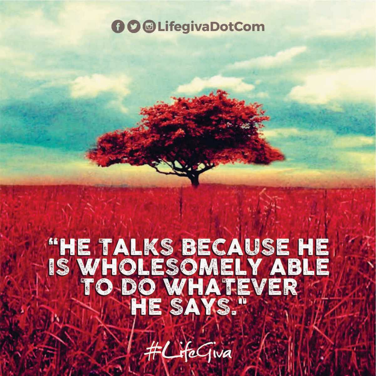WHY GOD SPEAKS : DAILY QUOTE