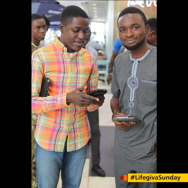 @theseunowolabi Your reception of the Holy Spirit is a right, not a privilege! #LifegivaSunday
