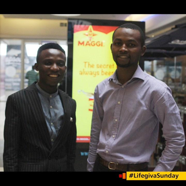 Adekunle Osilaja and Ukegbu Michael #LIfegivaSunday