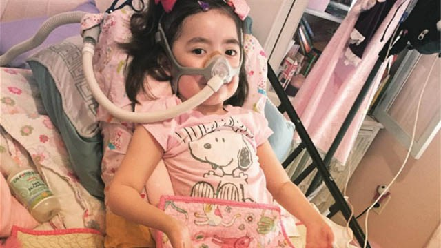 Dying 5 year old Julianna Chooses Heaven over Hospital