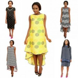 You can't be overdressed or underdressed in our hi-lo dresses. Follow @karenubaniapparel