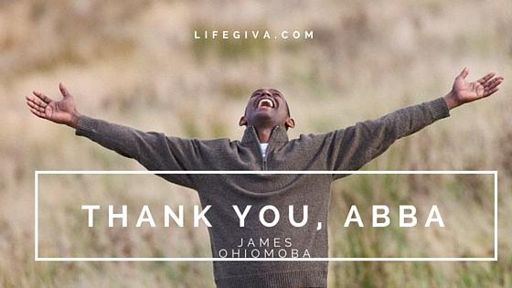 Thank you, Abba (2)