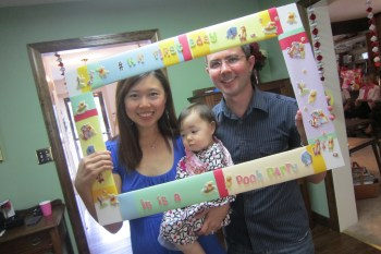 Annakate's First Birthday Party: Winnie The Pooh theme