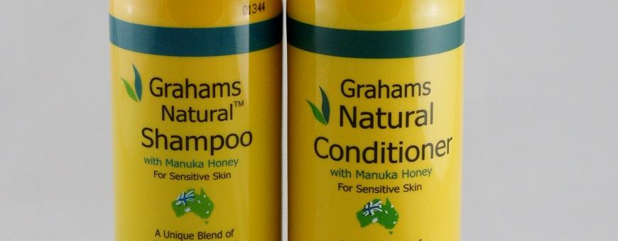 Grahams Manuka Honey Shampoo and Conditioner