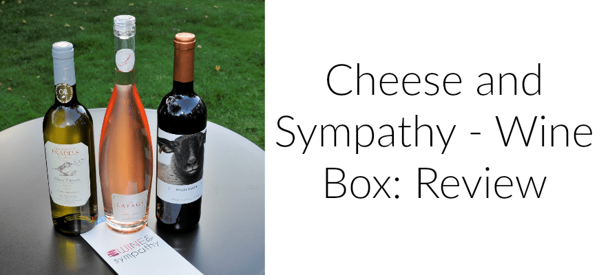 Cheese and Sympathy - Wine Box: Review