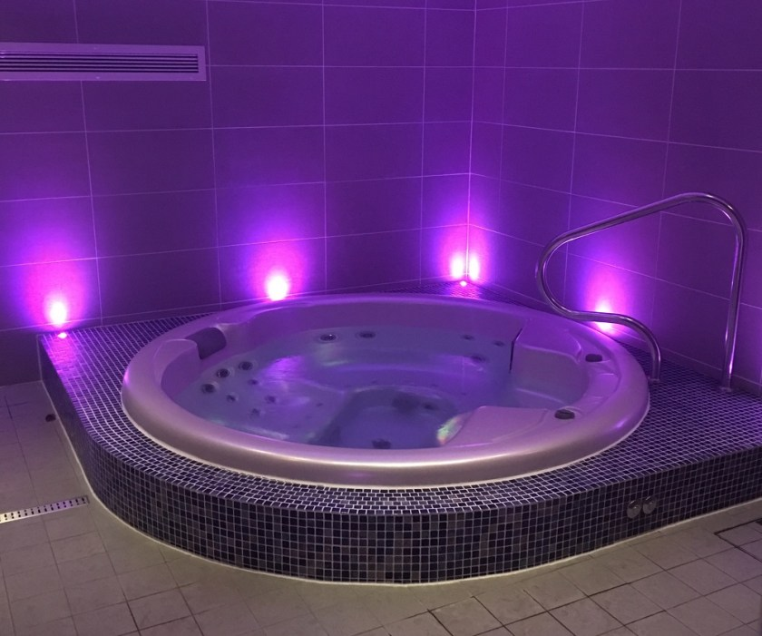 Bank House Hotel & Spa Worcester Spa Jacuzzi