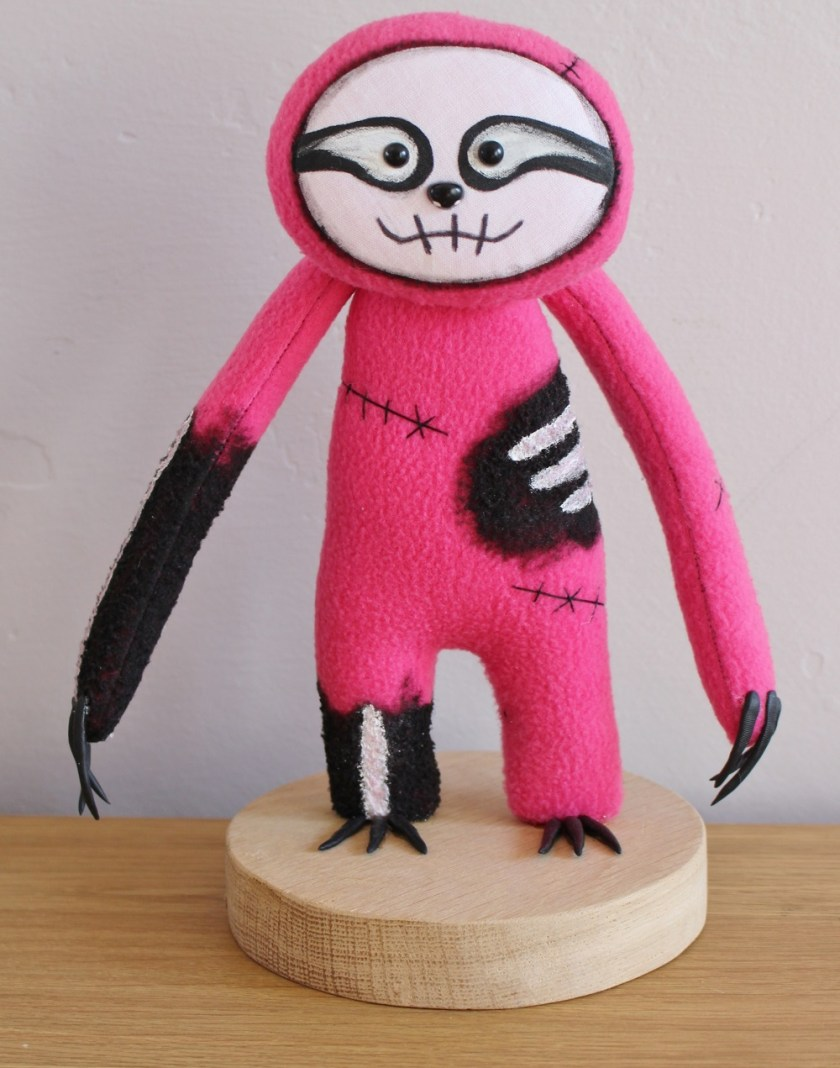 Sloth Doll by Pins And Needles