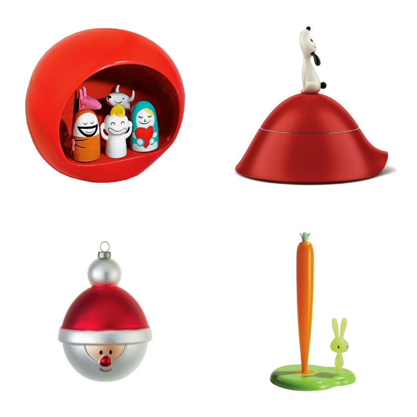 Unique Homewares from LOVEThESIGN Nativity scene Lula dog bowl with cover Babbonatale bauble Bunny & Carrot kitchen roll holder