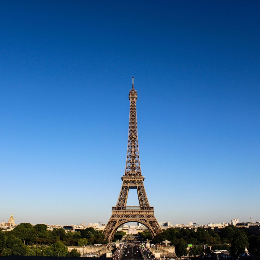 France Eiffel Tower stock image