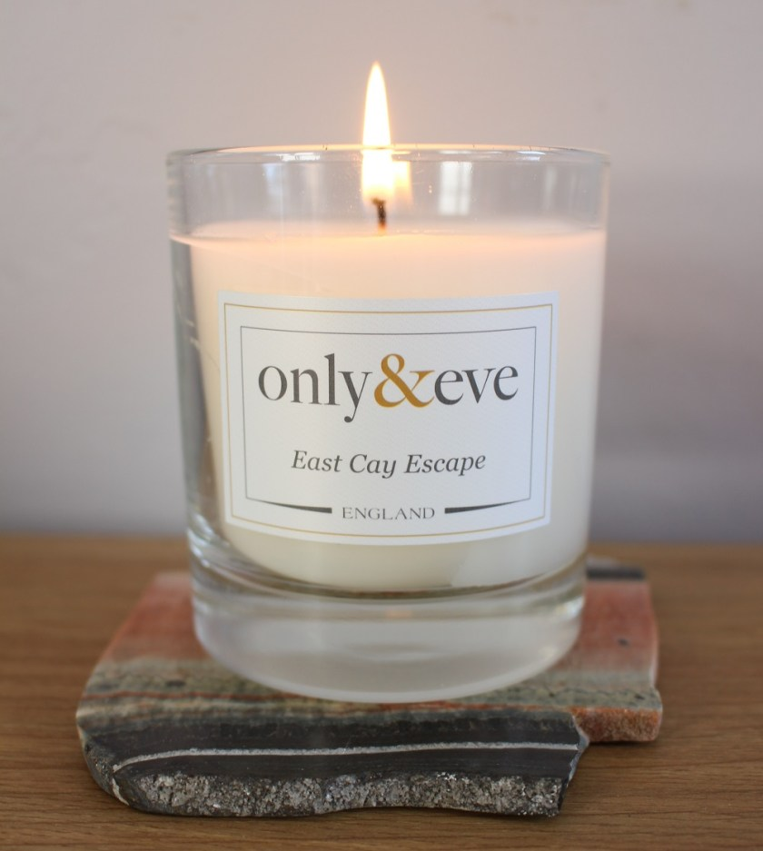 Only & Eve East Cay Escape Candle