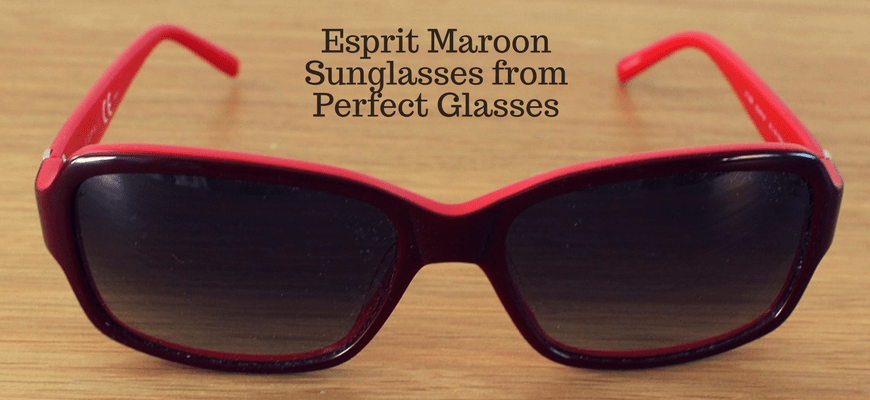 Esprit Maroon Sunglasses from Perfect Glasses