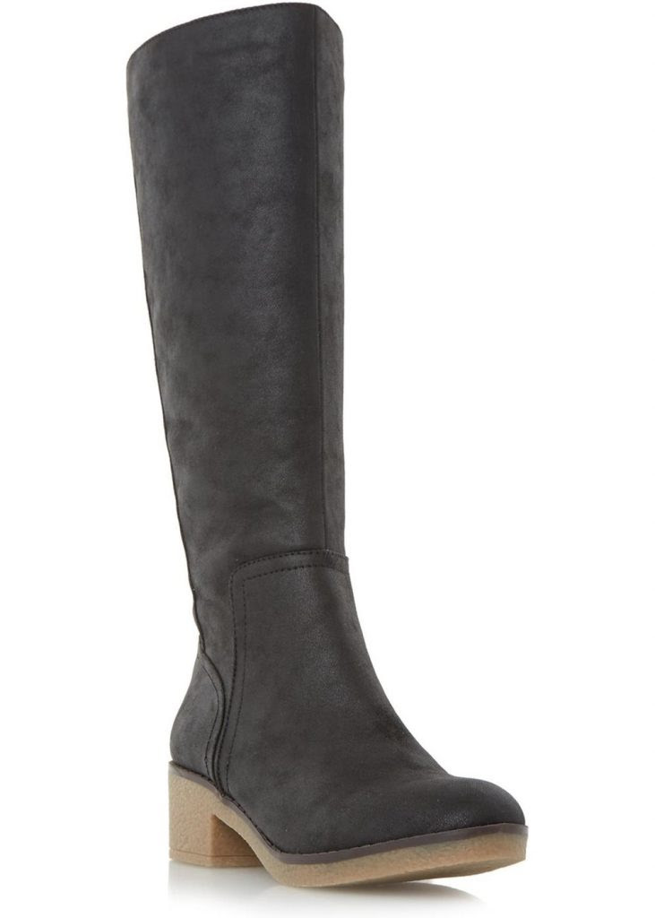 Tenant Crepe Sole Knee High Boot