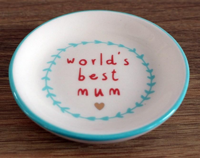 Blueberry Tree Worlds Best Mum Ring Dish