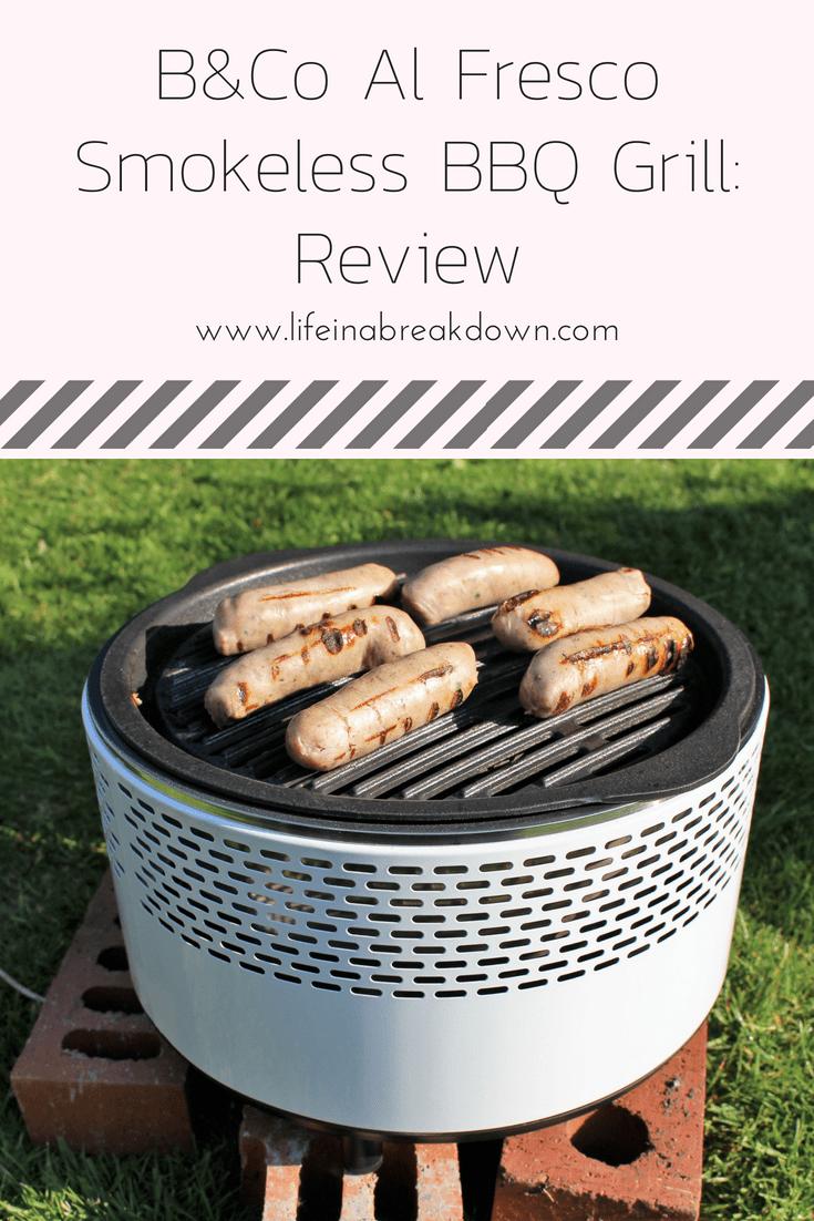B&Co Al Fresco Smokeless BBQ Grill Review
