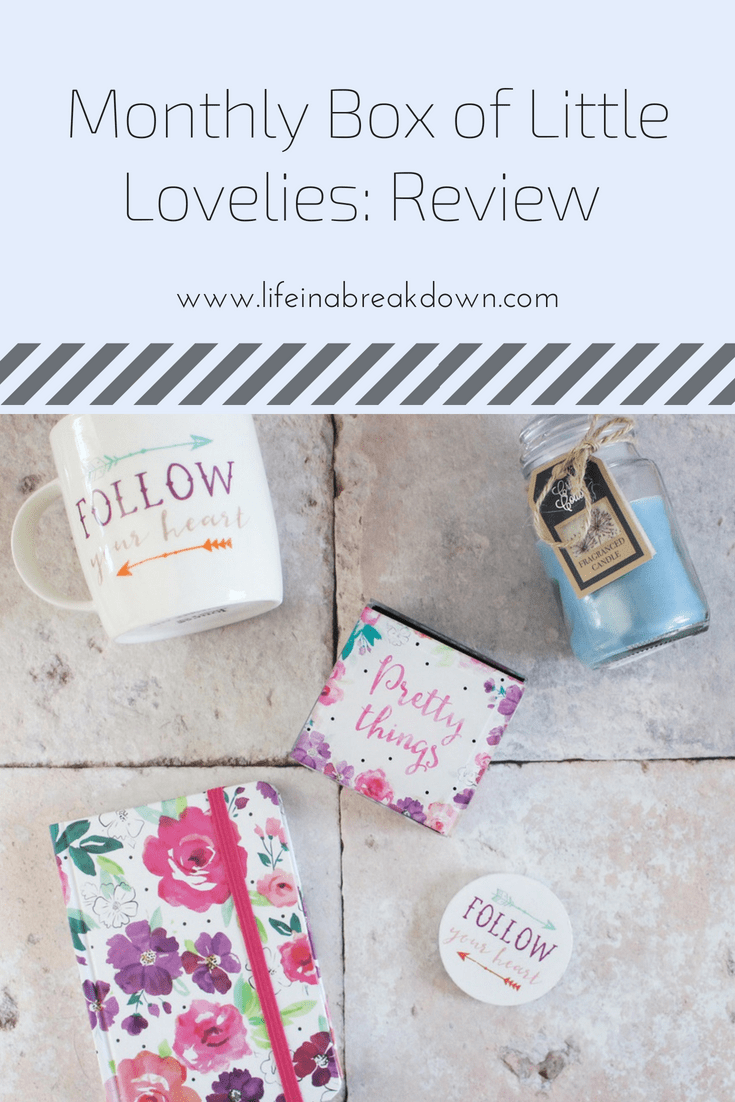Monthly Box of Little Lovelies: Review