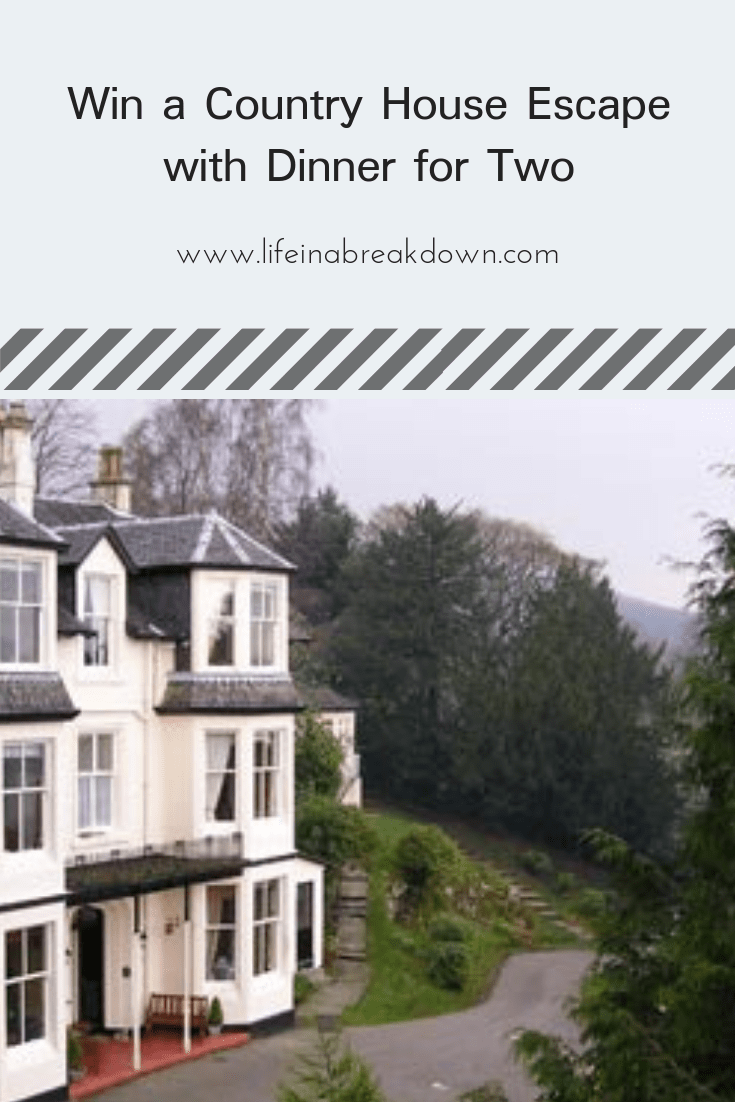 Win a Country House Escape with Dinner for Two