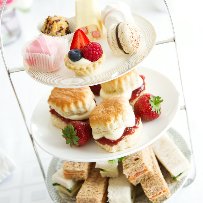 Afternoon Tea Laid Out