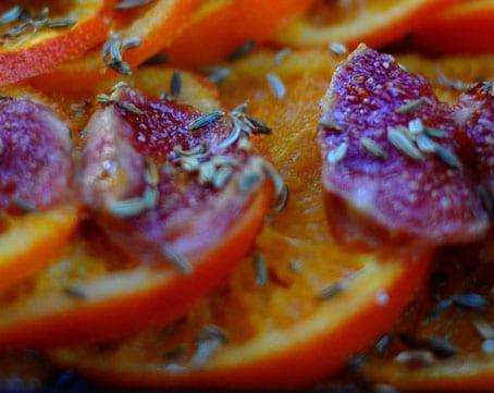 Chieti Fig Orange & Fenugreek Tart