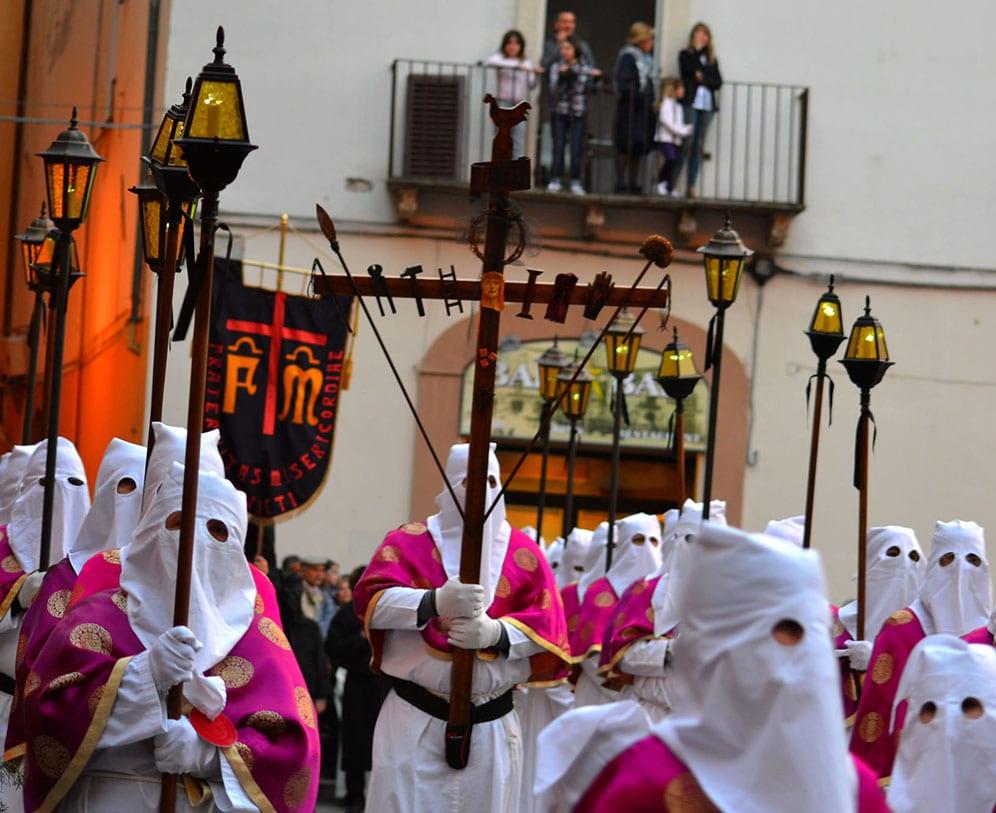 Chieti la processione del venerdi santo