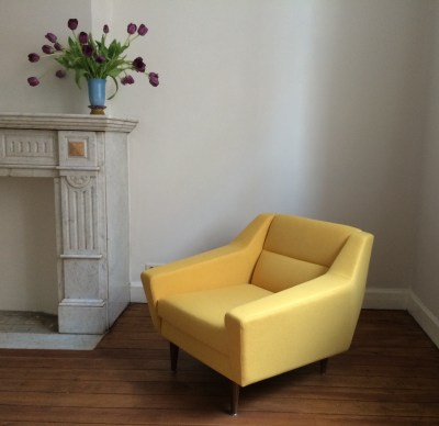 A Yellow Armchair