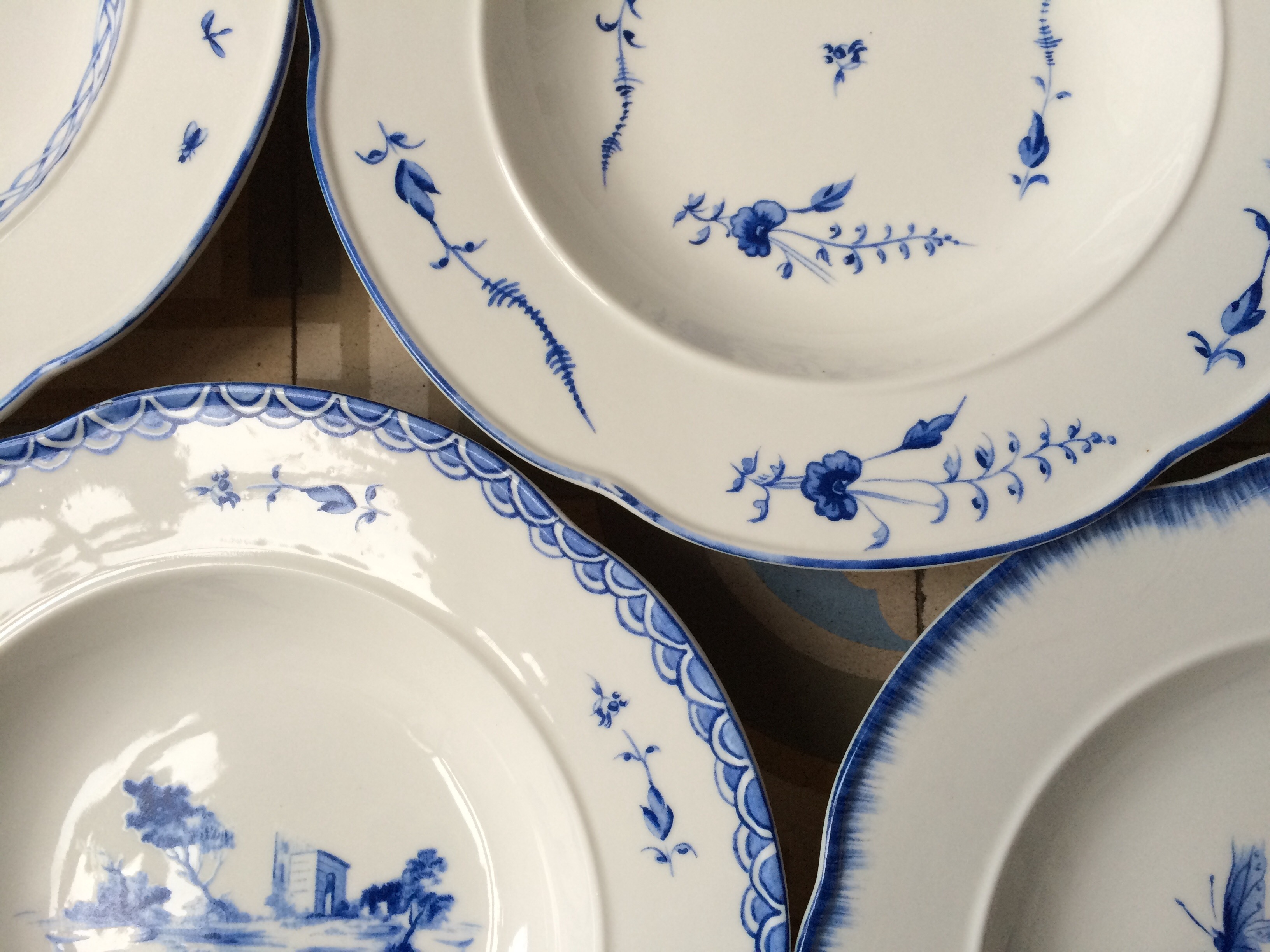 ... white china plates or you want to bulk up your existing collection (these mix pretty well with more expensive older items) itu0027s worth taking a look. & Pretty Plates: Blue and White Dinnerware from Zara | Life in a Cold ...