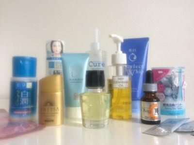 Japan: Drugstore Skincare Haul
