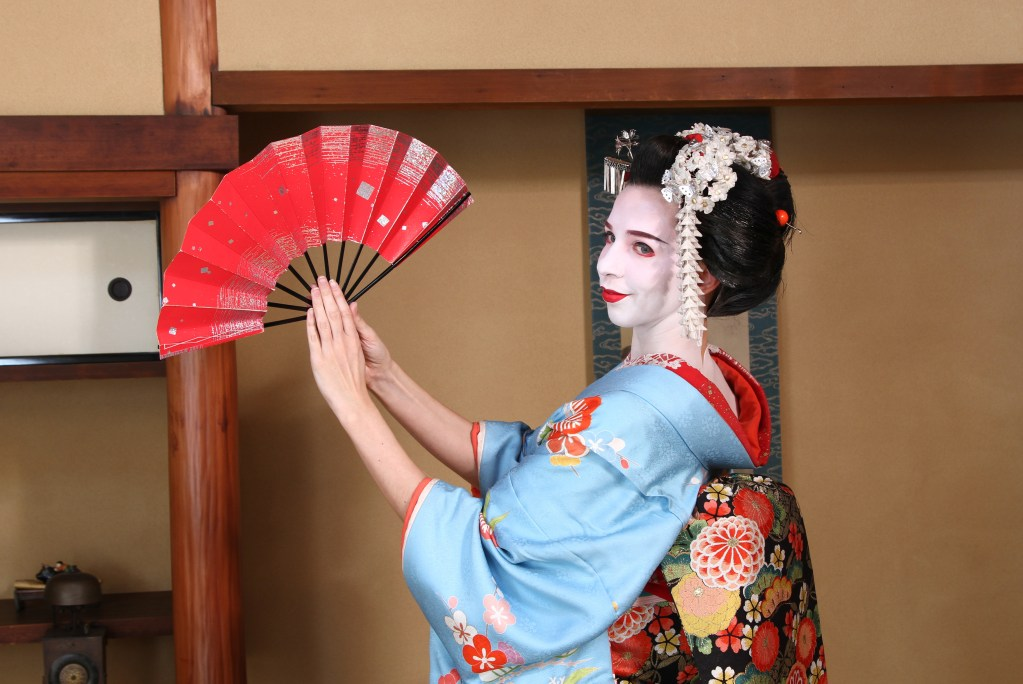 Japan: Pretending To Be A Geisha-In-Training