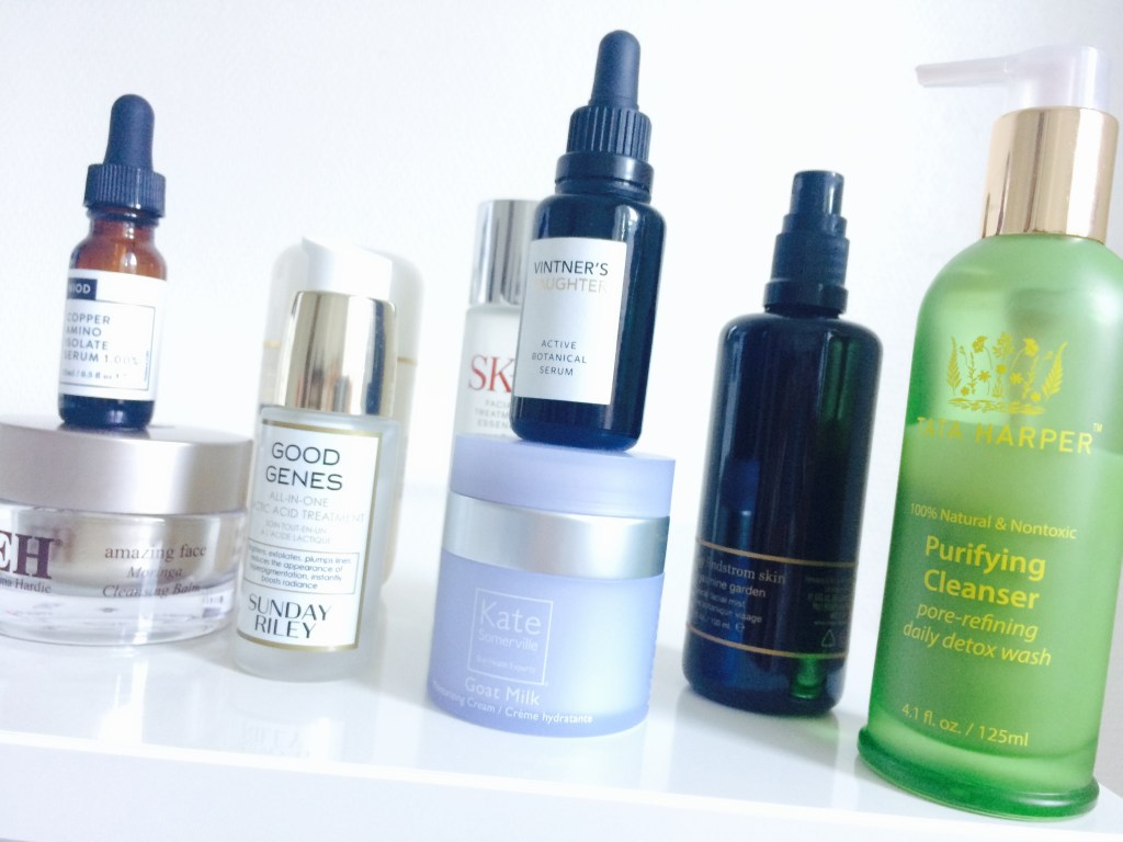 The Face of a Blogger: 9 Cult Skincare Products