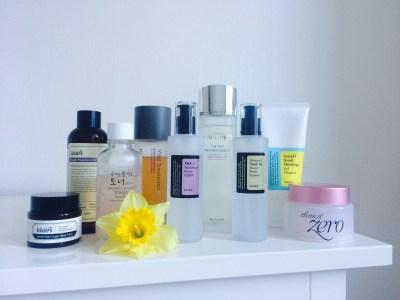 My Korean Skincare Stash Update Vol 1