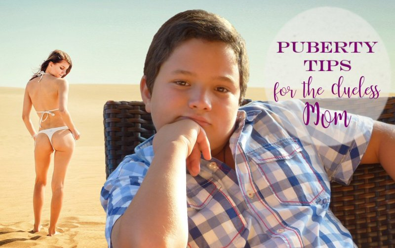 Puberty Tips for the Clueless Mom