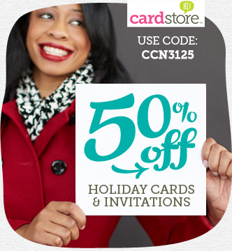 50% Off from Cardstore