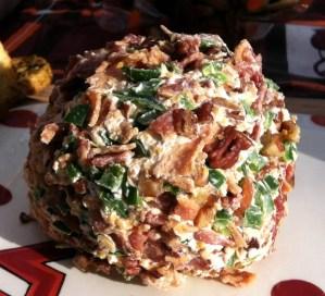 Mom's Recipes – Shrimp Pecan and Bacon Cheese Ball