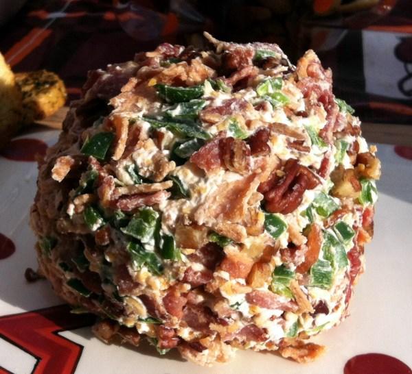 Shrimp & Pecan Cheese Ball