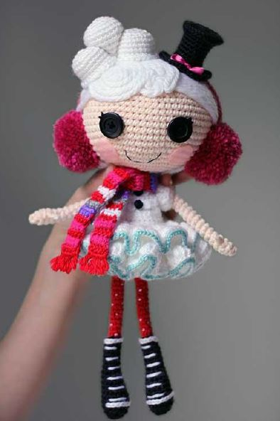 Crochet Your Own Lalaloopsy Doll