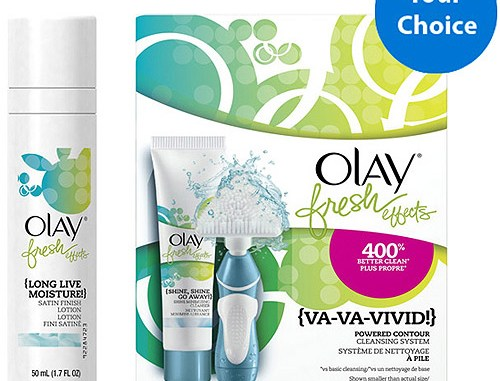 Olay Fresh Effects at (most) Walmart stores