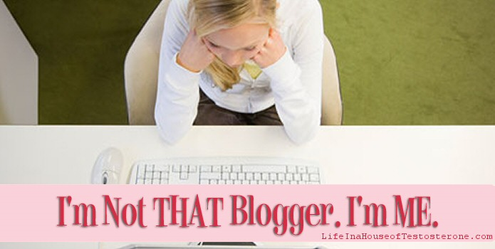 Finding Myself Again and Realizing I'm Not THAT Blogger. I'm ME.