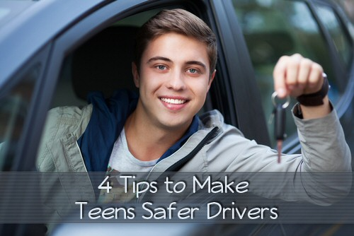 4 tips to make teens safer drivers