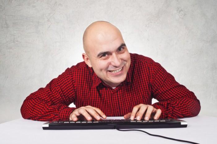 creepy guy on dating website