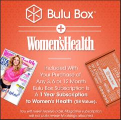 50% Off Bulu Box & Women's Health Magazine