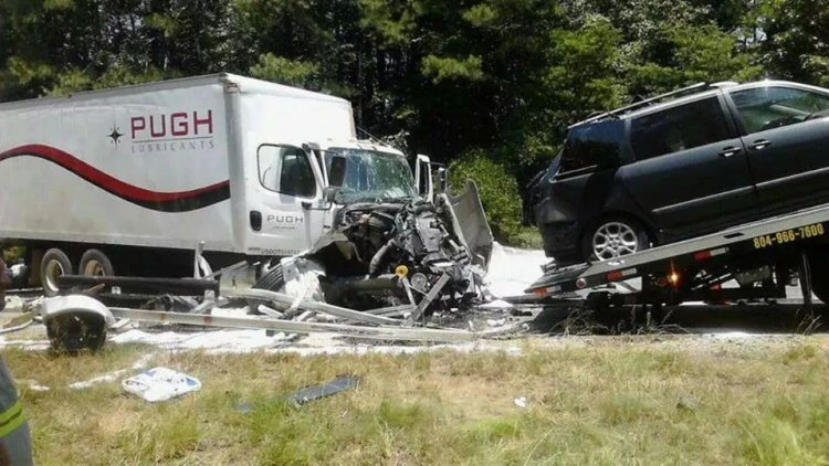 July 8, 2014 - Accident closes I64-E