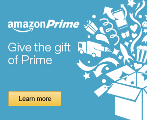 Amazon Prime Gift Membership Available Now!