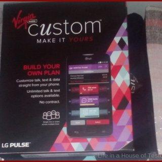 Virgin Mobile Custom Plan at Wal-Mart