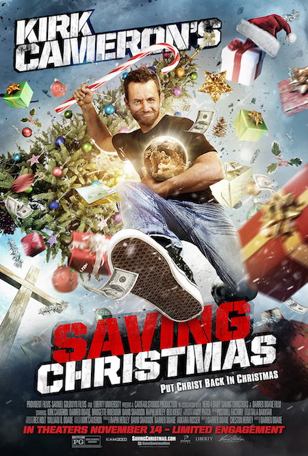 Saving Christmas in Theaters November 14th