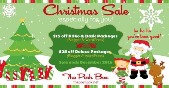 The Posh Box Christmas Sale