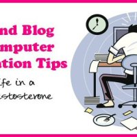 year end blogging and computer organization tips