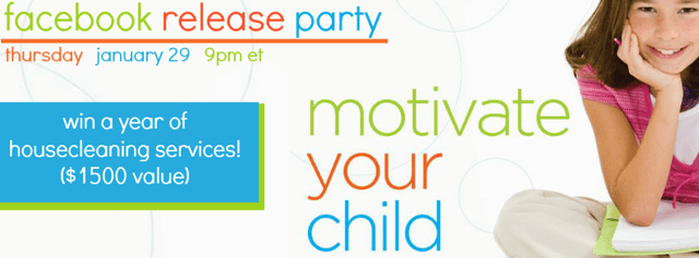 Facebook Release Party - Motivate Your Child