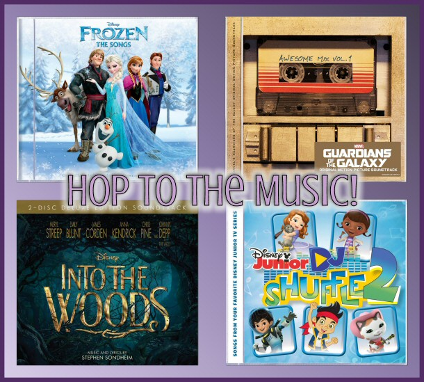 Disney Music and ENM Network - Hop to the Music Giveaway