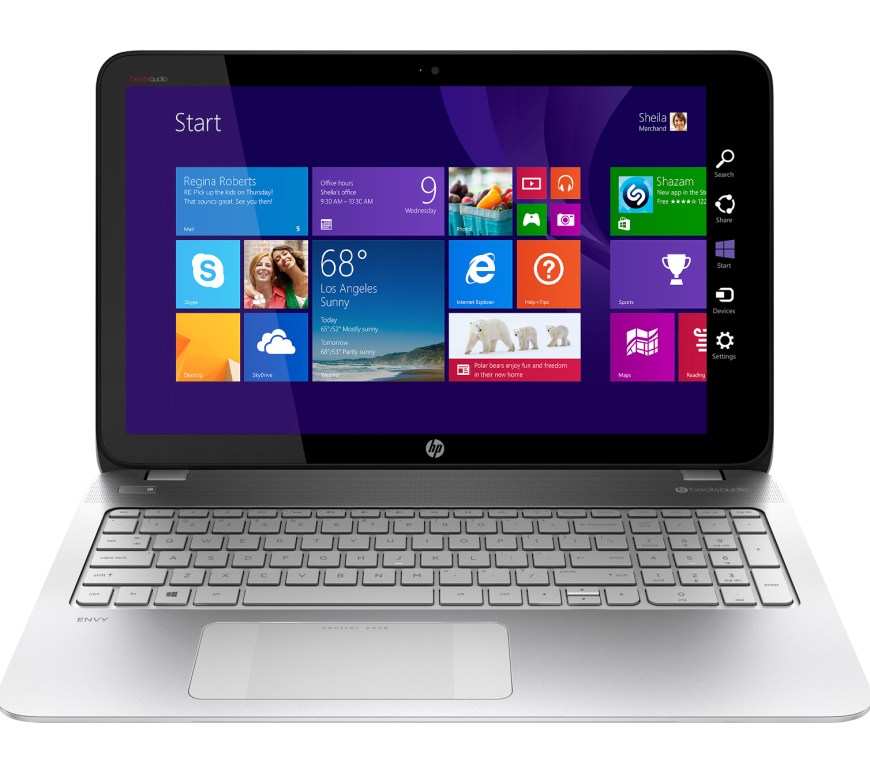 HP Envy TouchSmart Laptop with #AMDFX at @BestBuy Now